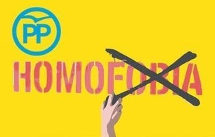 El PP vota en contra de la revisión del contenido educativo para eliminar la LGTBfobia