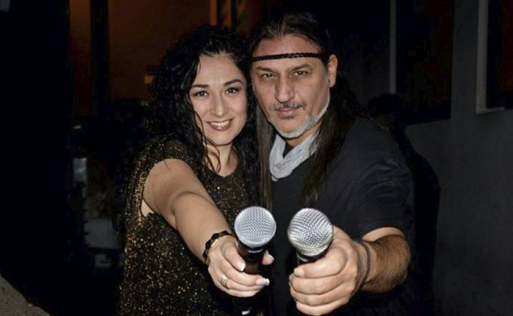 Ángeles y Dioni de Camela posan como el compenetradísimo dúo que son