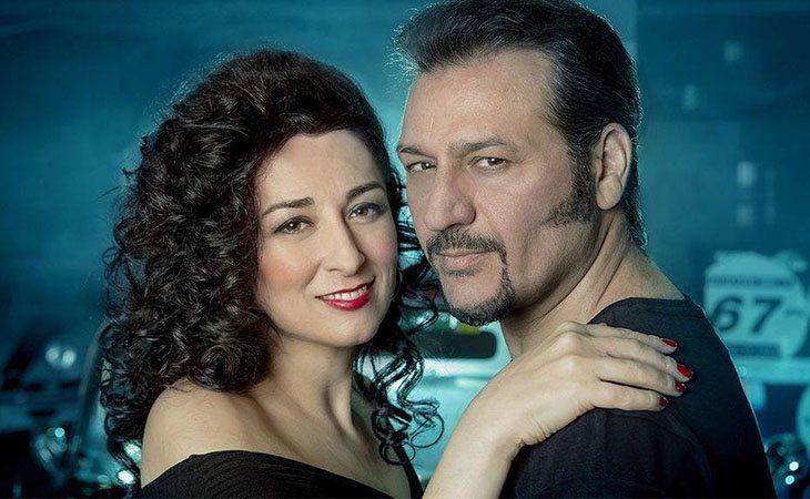 Ángeles Muñoz y Dioni Martín posan para su último disco