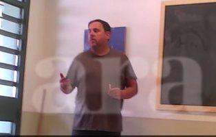 Filtran un vídeo de Junqueras, Forn y Romeva en la cárcel de Estremera