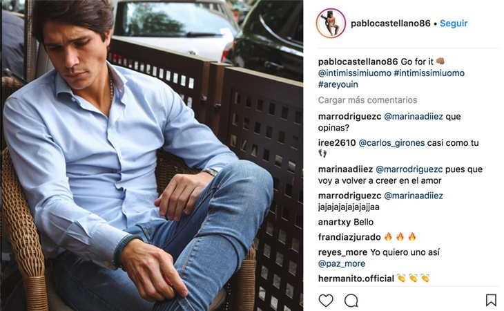 Instagram de Pablo Castellano