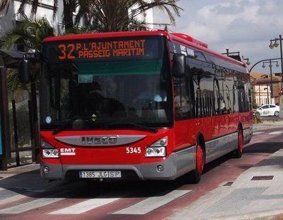 Detenido un conductor de autobuses en Valencia por masturbarse mientras conducía