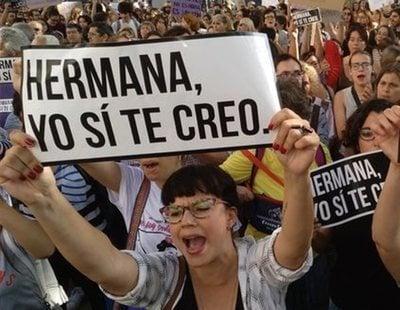 Ley Mordaza: Multadas con 700 euros por manifestarse contra la sentencia de 'La Manada'
