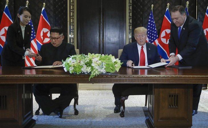 Corea del Norte y EEUU han firmado un acuerdo histórico