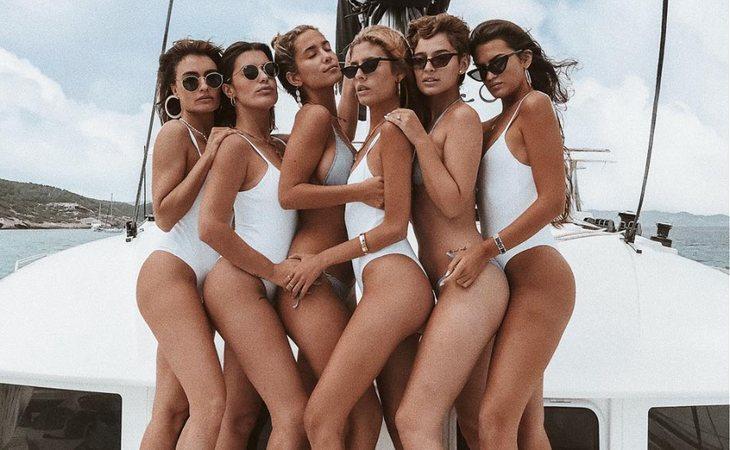 Dulceida y sus amigas en Ibiza