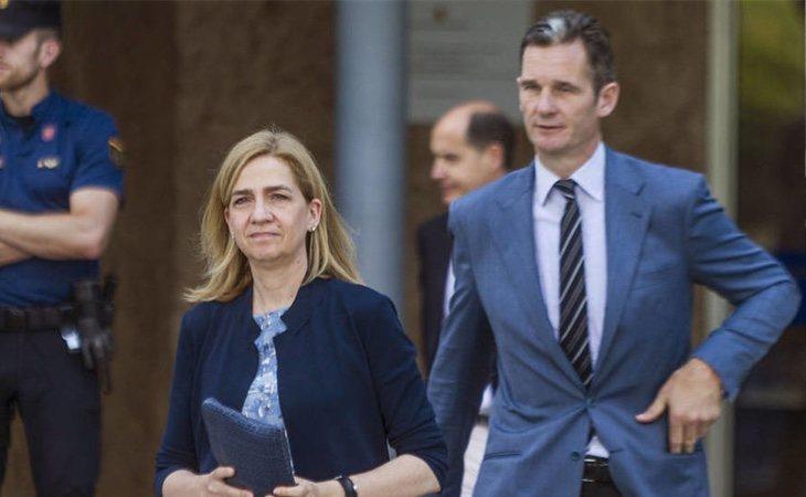 La Infanta Cristina se encuentra desolada por todo lo sucedido