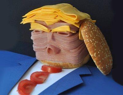 'Trump-burger': La hamburguesa tróspida española que está causando furor