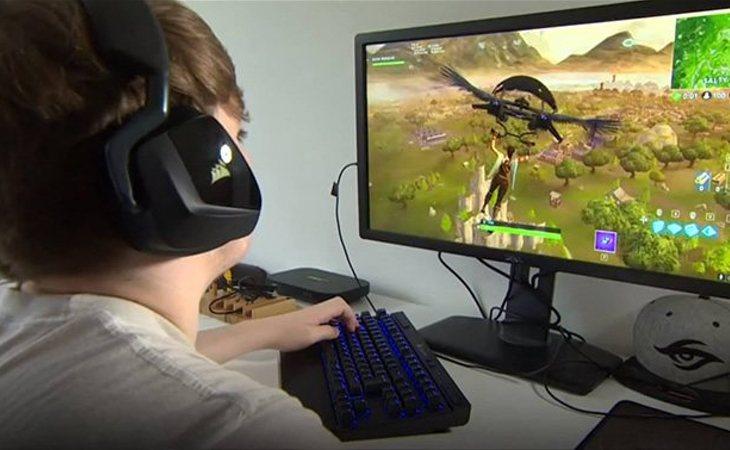 La niña llegaba a jugar mas de 10 horas seguidas a 'Fortnite'