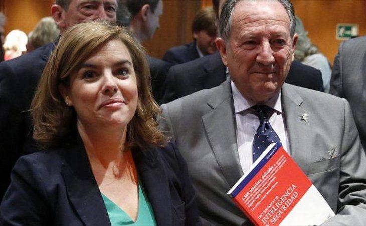 Soraya y Félix Sanz Roldán mantienen una relación muy estrecha