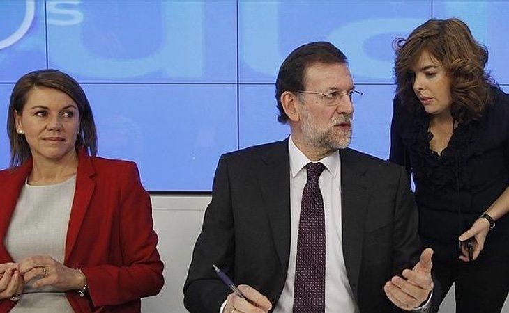 Rajoy se vio obligado a equilibrar el poder entre Soraya y Cospedal