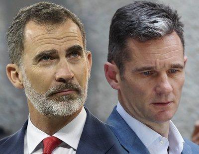 """El rey Felipe VI, """"víctima"""" por la sentencia a Urdangarín: """"Lo está pasando mal"""""""