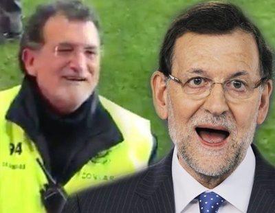 Mariano Rajoy, de presidente del Gobierno ¿a vigilante del campo del Numancia?