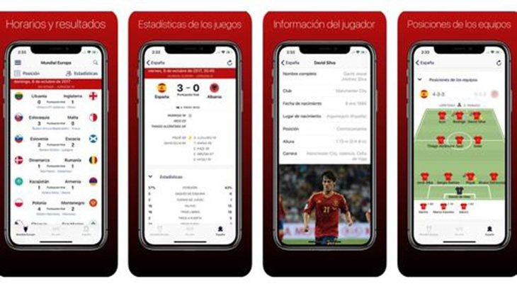 Esta aplicación ofrece información muy completa sobre el Mundial