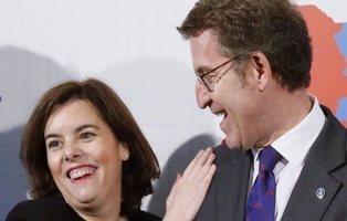 El PP teme un vacío de poder ante la posibilidad de que Feijóo se quede en Galicia
