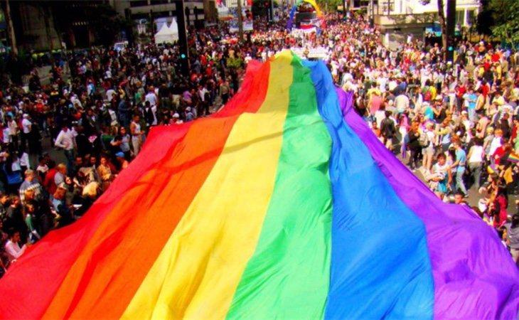 Las calles durante el orgullo son una auténtica fiesta