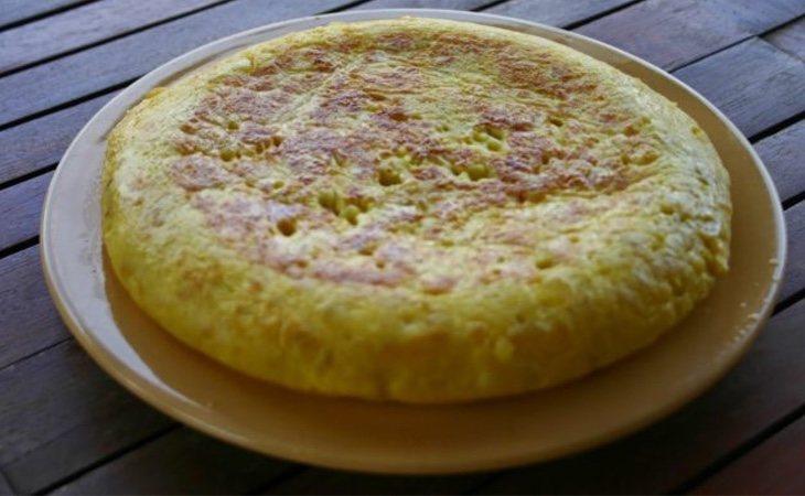 La tortilla es el plato favorito de los españoles