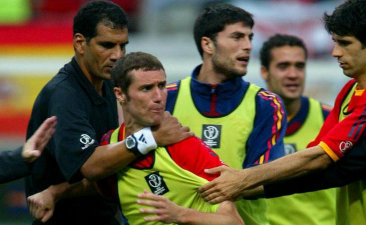 El árbitro fue el principal protagonista en cuartos de final