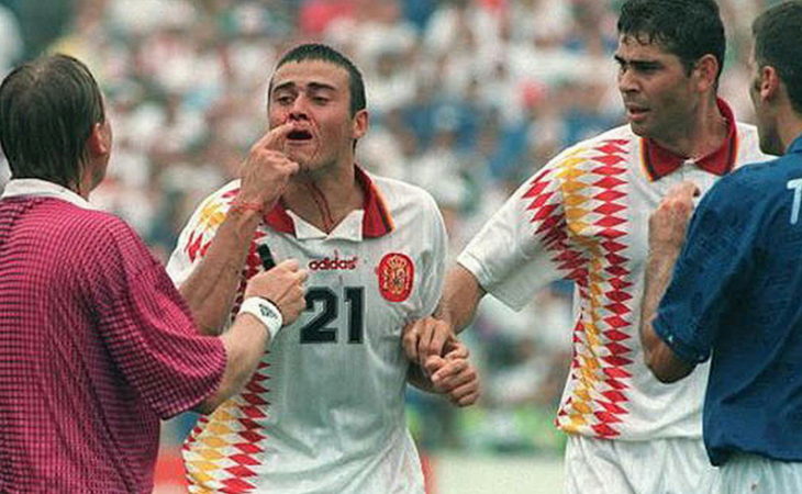 Un posible penalti dejó fuera a España en Estados Unidos