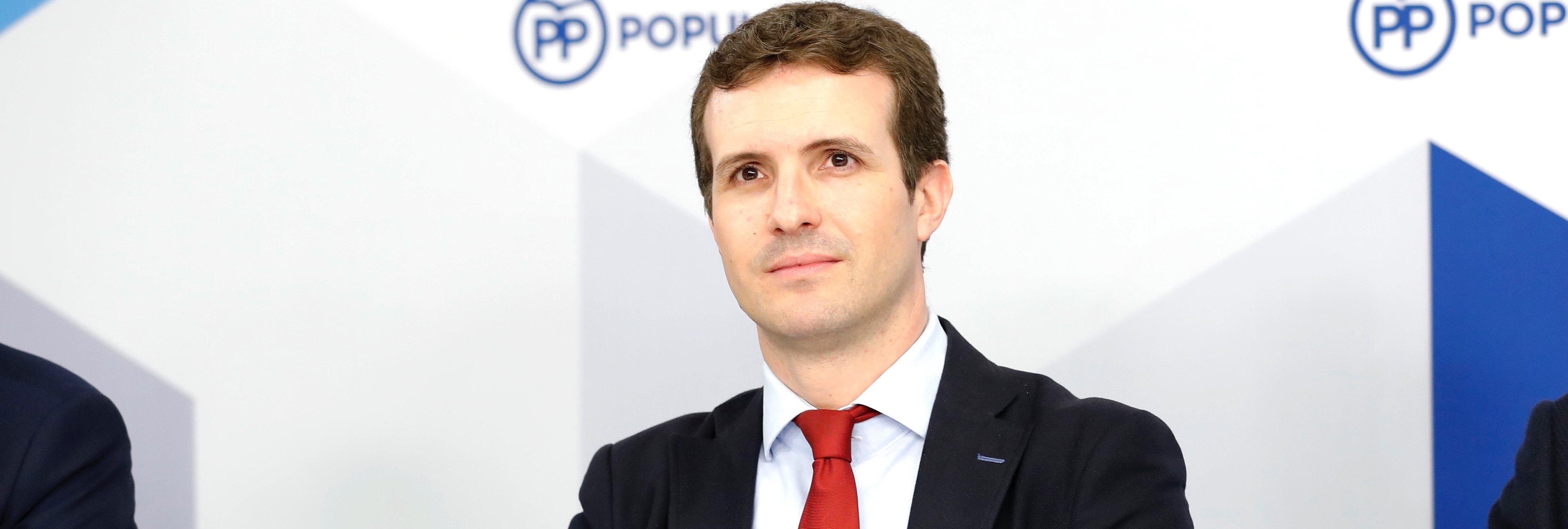 "Pablo Casado: ""Presento mi candidatura para recuperar a aquellos votantes que se han ido a C's o VOX"""