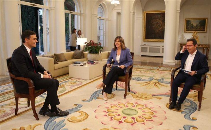 Pedro Sánchez, primera entrevista como presidente del Gobierno en TVE con Ana Blanco u Sergio Martín