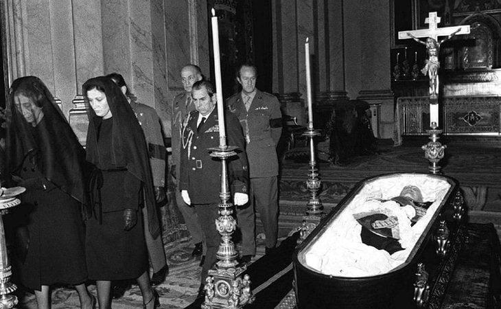El cuerpo de Franco fue embalsamado