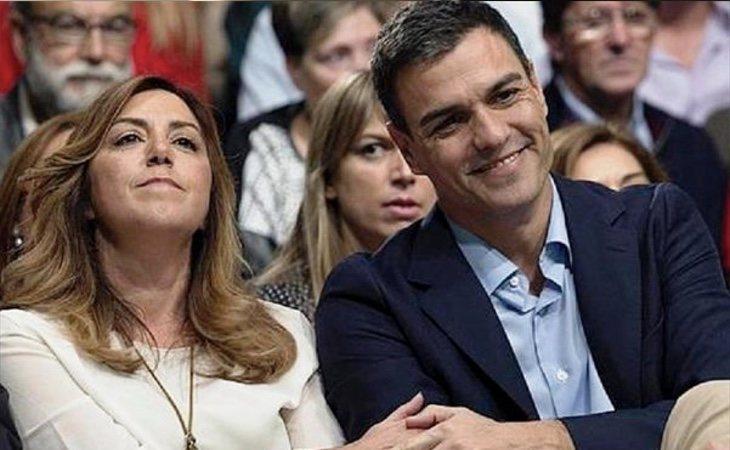Susana Díaz perdió las primarias a pesar de que contaba con todo el apoyo de los pesos pesados del partido