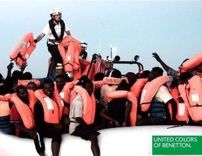 Benetton promociona su marca utilizando imágenes del Aquarius y desata la polémica