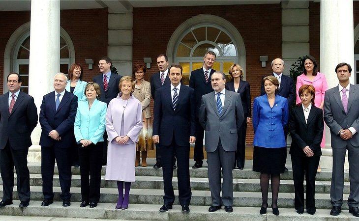 Primer Gobierno de Zapatero