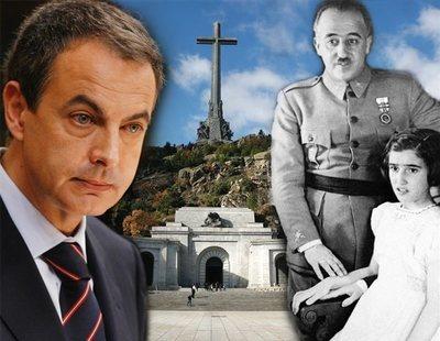 Zapatero trató de pactar la exhumación de Franco del Valle de los Caídos con la hija del dictador