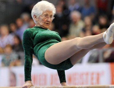 Gimnasta con 92 años: una historia de superación