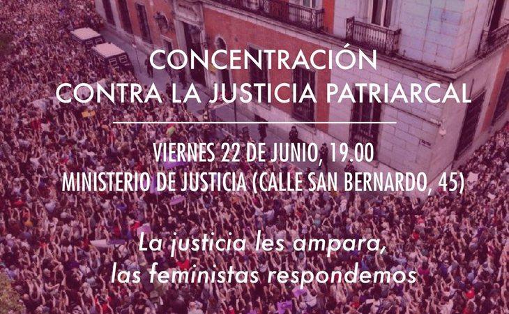 Movilizaciones en toda España en contra de la libertad provisional de 'La Manada'