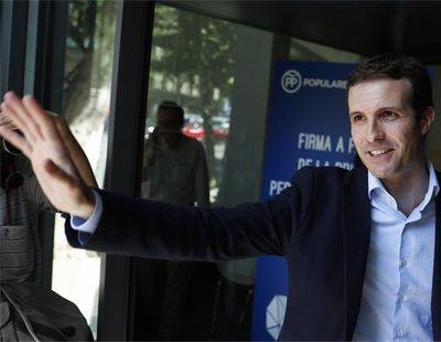 El PP investiga si Casado obtuvo información personal de los afiliados para su candidatura