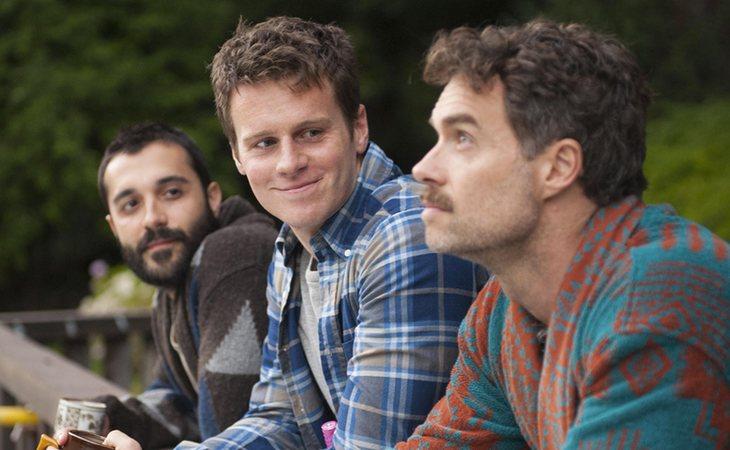Los tres protagonistas de 'Looking'