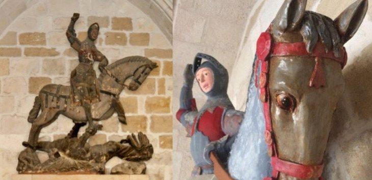 El antes y el después de la polémica restauración