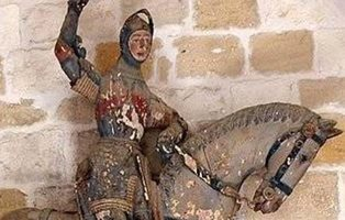 El nuevo Ecce Homo: la estatua de San Jorge de Estella termina con una fuerte polémica