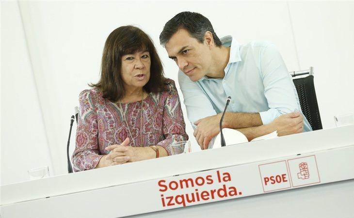 Narbona es presidenta del PSOE desde 2017