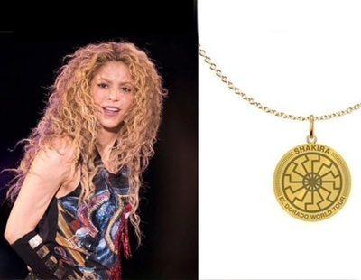 Shakira retira un colgante con simbología nazi de su nueva gira