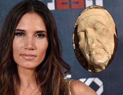 La cantante India Martínez halla un busto del S.II mientras practica running
