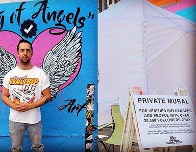 Crean un mural exclusivo para que solo se fotografíen influencers