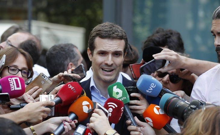 Pablo Casado está cansado de que se divulguen noticias sobre él
