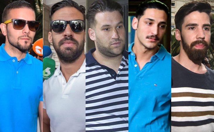 Ángel Boza, Antonio Manuel Guerrero, José Ángel Prenda, Alfonso Jesús Cabezuelo y Jesús Escudero, 'La Manada', en libertad provisional