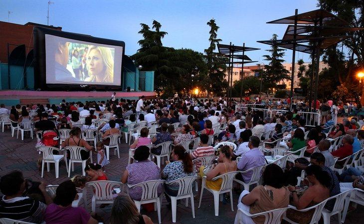 Los cines de verano son una tradición en Madrid