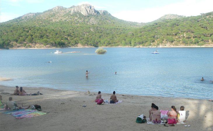 No hay playa en Madrid pero casi... El Pantano de San Juan