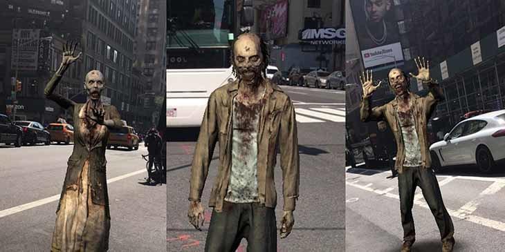 Los caminantes invadirán las calles del mundo real