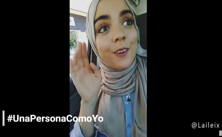 Video-denuncia de Laila en su canal de YouTube