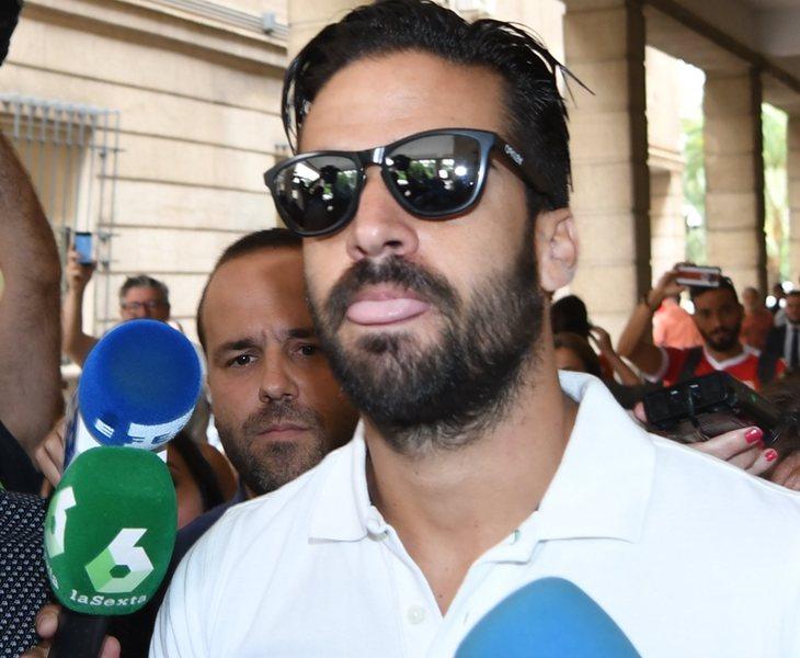 Antonio Manuel Guerrero a su salida del juzgado