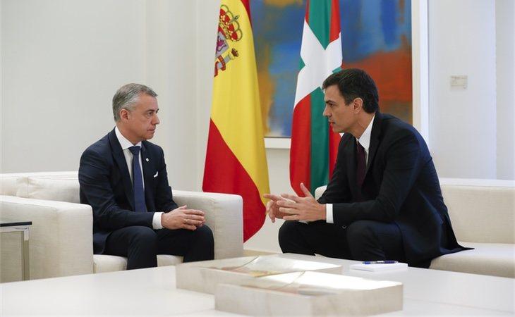 A principios de semana Pedro Sánchez se reunió con Iñigo Urkullu