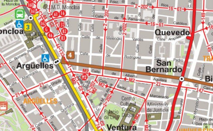 El metro de San Bernando