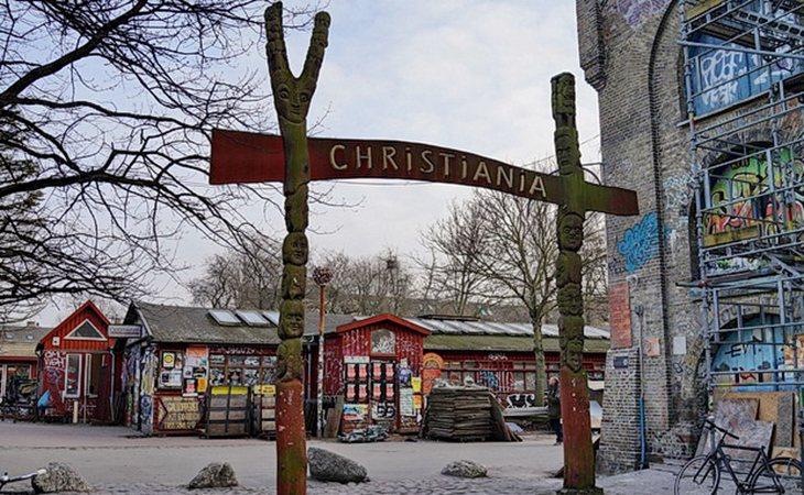 Puerta principal de Christiania
