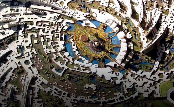 Auroville y su galaxia
